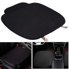 Black Color Universal Single Car Seat Cover Mat