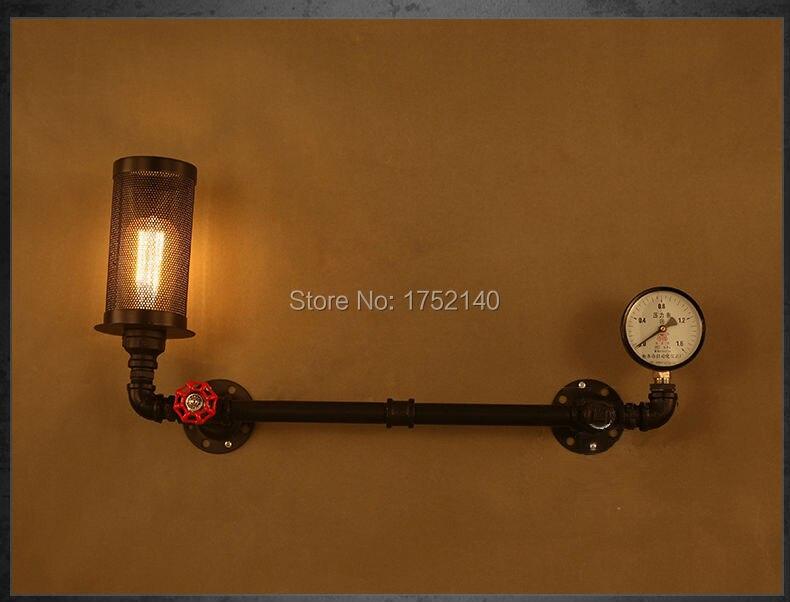 Lampade da parete stile industriale lampada da parete applique