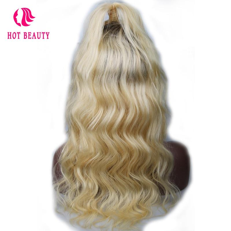 Kuumad juuksed juuksed täis pitsi inimese juuksed parukad beebi - Inimeste juuksed (must) - Foto 3