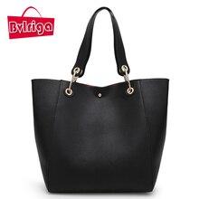 BVLRIGA bolsas mensajero de Las Mujeres mujeres de los bolsos de cuero de lujo diseñador vintage tamaño grande bolsos de totalizador del bolso de hombro de alta calidad