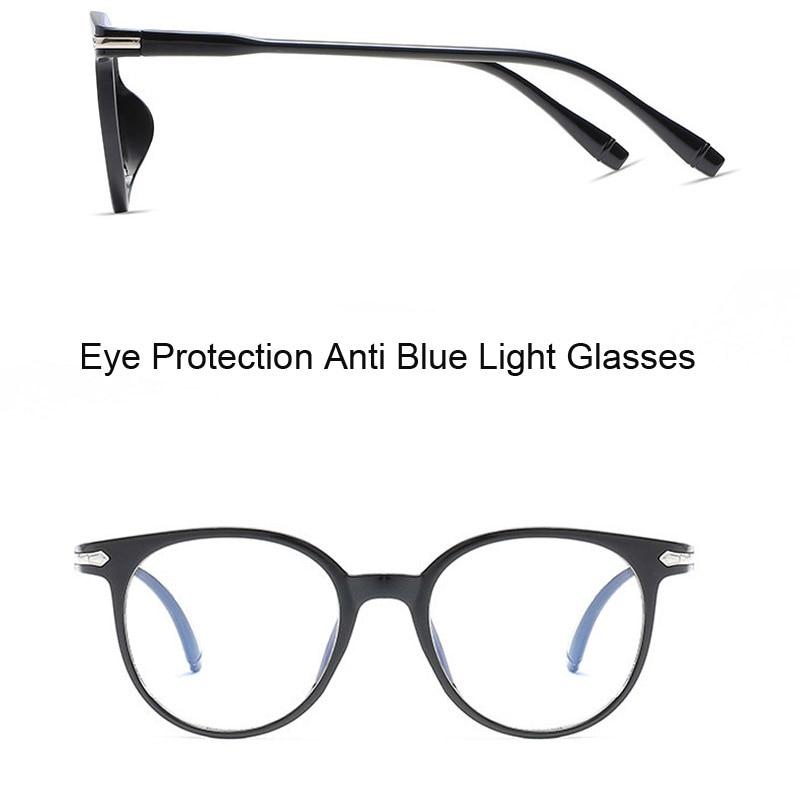 e79b777d37e Korean Fashion Clear Glasses Frame Anti Blue Light Glasses Women Fake  Glasses Pink Optical Eyeglasses Frame Transparent Oculos-in Eyewear Frames  from ...