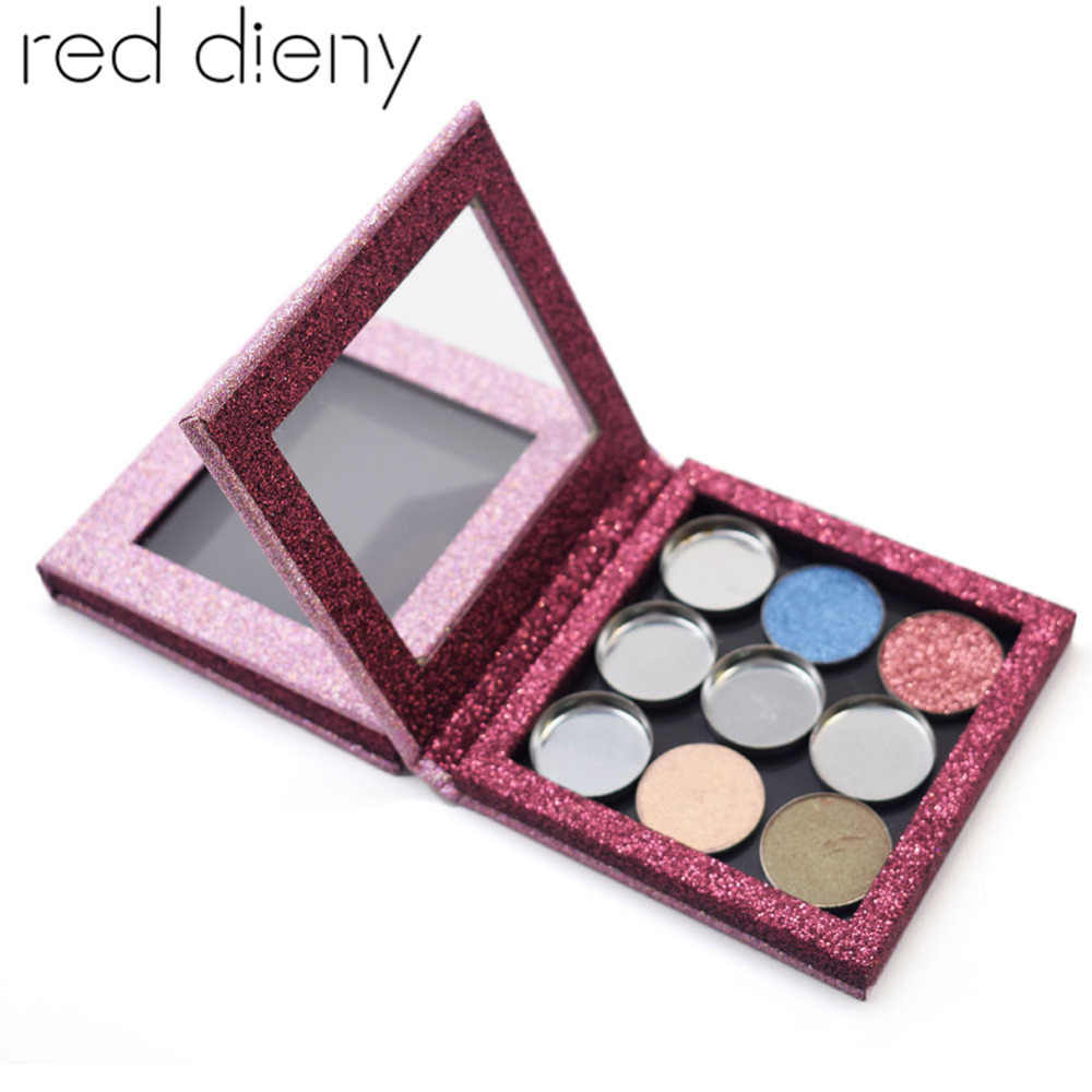 DIY Empty Magnetic Eyeshadow Palette Pigment Case Eye Shadow Lipstick Lip Gloss Powder Fundation Concealer Blusher Makeup Box