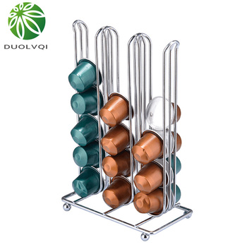 Duolvqi Coffee Pod Capsules Holder Tower Stand 1