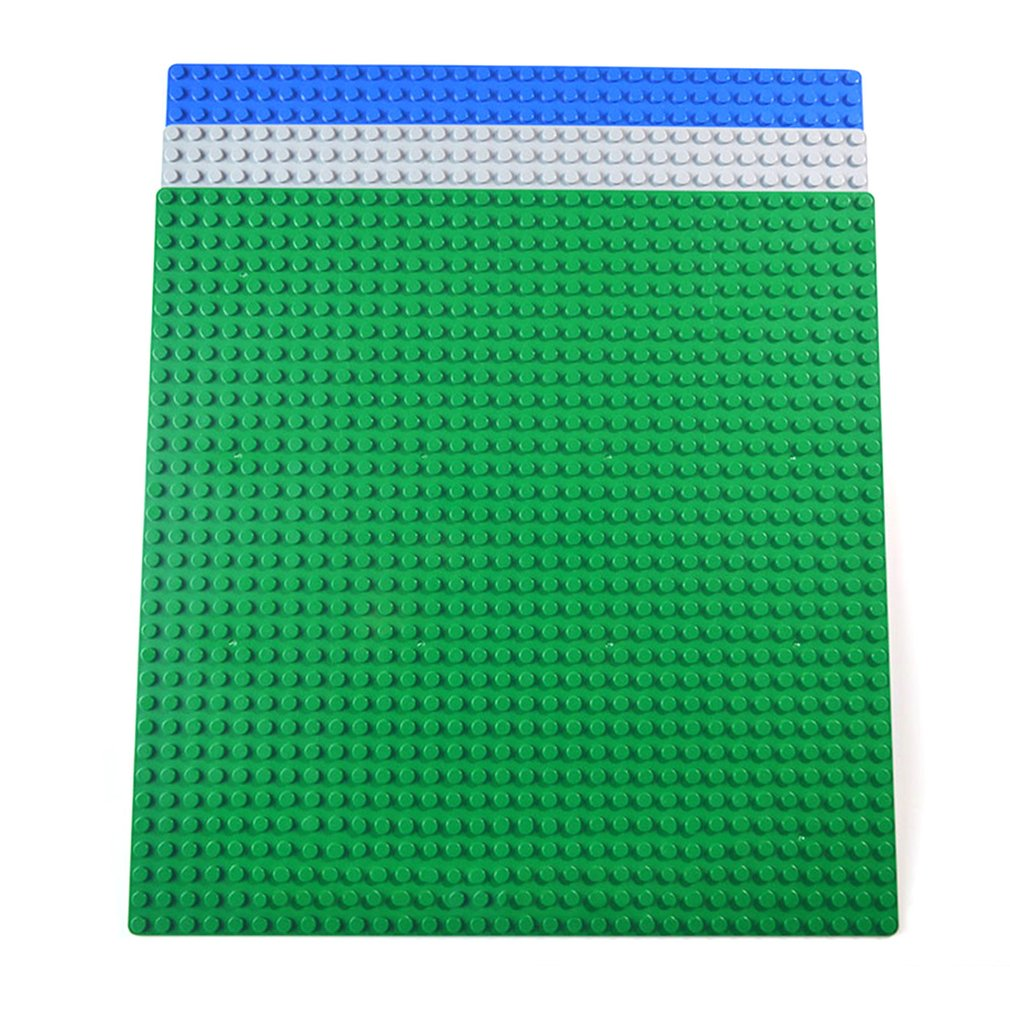 Classic Building <font><b>Baseplates</b></font> Board Small Studs Stackable DIY Building Blocks <font><b>32x32</b></font> Dots Board Educational Toys For Children image