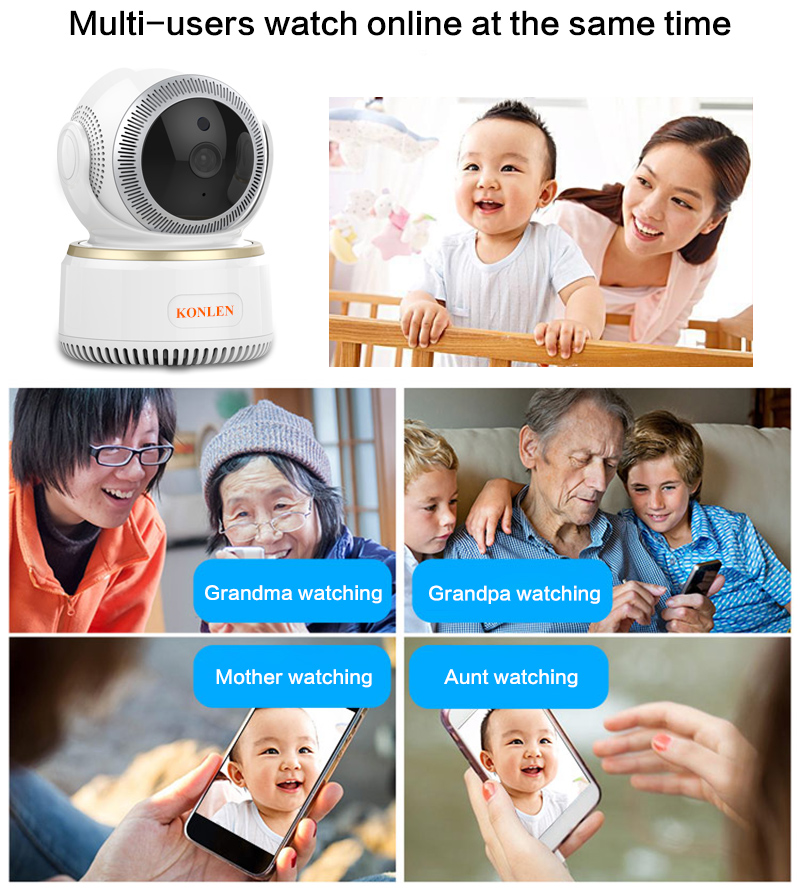 WIFI Wireless Security Camera 11