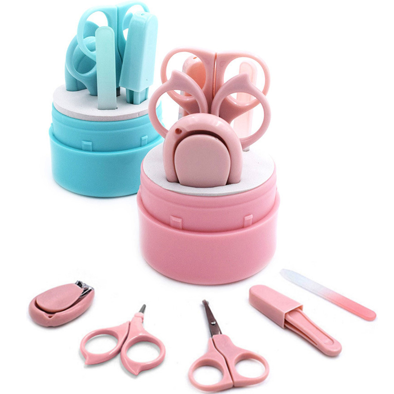5pcs Multifunction Newborn Baby Kids Nail Care Set Infant Nail Clippers Sets Grooming Healthcare Kits Accessories For Baby Care