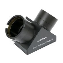 2inch High-reflect Diagonal Zenith Mirror 90 Degree with Alloy Frame for 2 Astronomical Telescope Eyepiece Accessories цена
