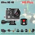 Novo!! câmera ação Original EKEN H8 mais 30fps Ambarella A12 4 K/1080 P 120fps Wi-fi 2.4G Tela Dupla remoto ir esporte cam h8plus