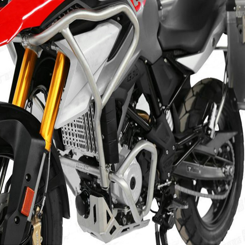 For BMW G310GS <font><b>G310R</b></font> G310 R G 310 GS G 310GS 2017-On Tank protector Upper Carsh Bars Guard Engine Bumper Cover image