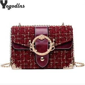 Mini Crossbody Bags For Women 2020 Cheap Bag Handbags Designer Small Women Messenger Bags Wool Flap Bag bolsa feminina