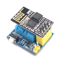 Best price Elecrow ESP8266 ESP-01 ESP-01S DHT11 Temperature Humidity Sensor for Arduino Wifi Wireless Module Smart Home IOT DIY Project Kit