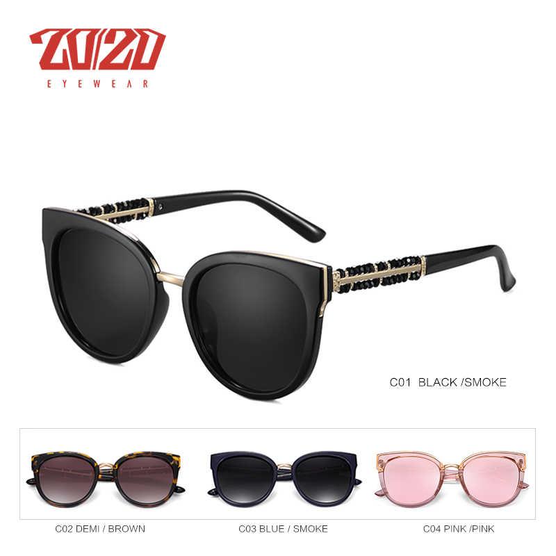 0ce338d7a3a49 ... 20 20 Brand Design Fashion Lady Polarized Sunglasses Women Retro  Vintage Cat Eye Sun Glasses ...