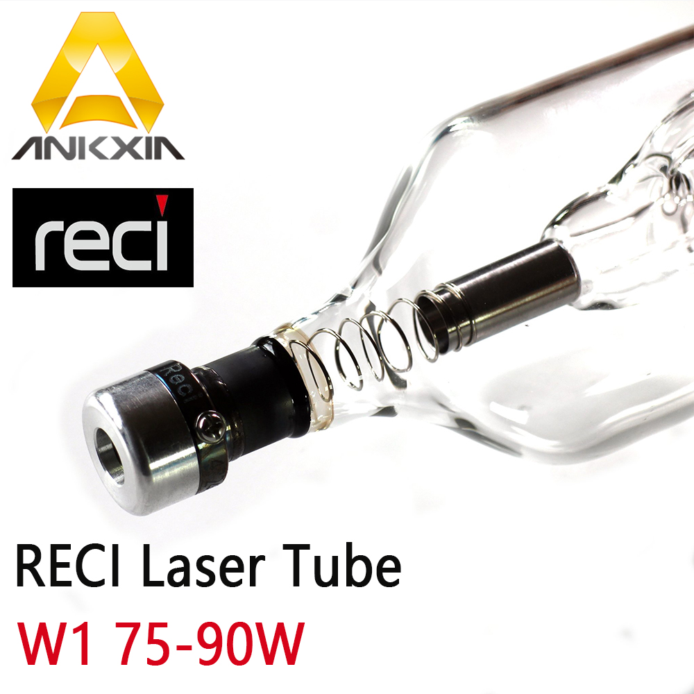 Co2 Laser Tube Reci 80W 90W W1 9060 Tubes For Co2 Laser Cutting Engraving Machine Dia 80mm Length 1050mm S1 V1 Z1 цена