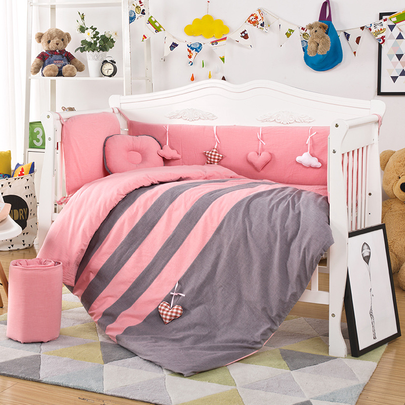Baby Bedding Sets Baby Bed Organizer For Newborns Sleeping Sets 3Pcs Including Duvet Cover Pad Cover Pillowcase Baby Accessories
