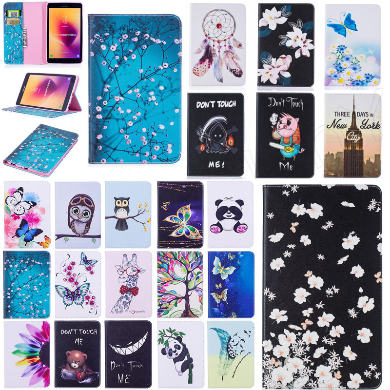 For iPad mini 1 2 3 7.9 inch Tablet Case High Quality Painting PU Leather Slim Stand Card Slot Case For iPad mini Case Cover