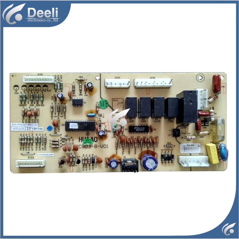 95% new used Original for refrigerator board BCD-199WAK BDG23-88 PCB03-8-V01 Computer board 95% new used for refrigerator computer board h001cu002
