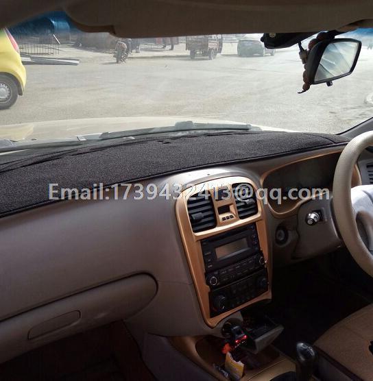 Coche dashmats Sonica car-styling accesorios tablero de instrumentos cubierta para Hyundai Sonata 1998 1999 2000 2001 2002 2003 2004 rhd