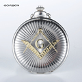 Luxury Silver Golden Free-Mason Steampunk Design 2016 GORBEN Hot Masonic Freemason Freemasonry Pocket Watch Quartz Watch Gift
