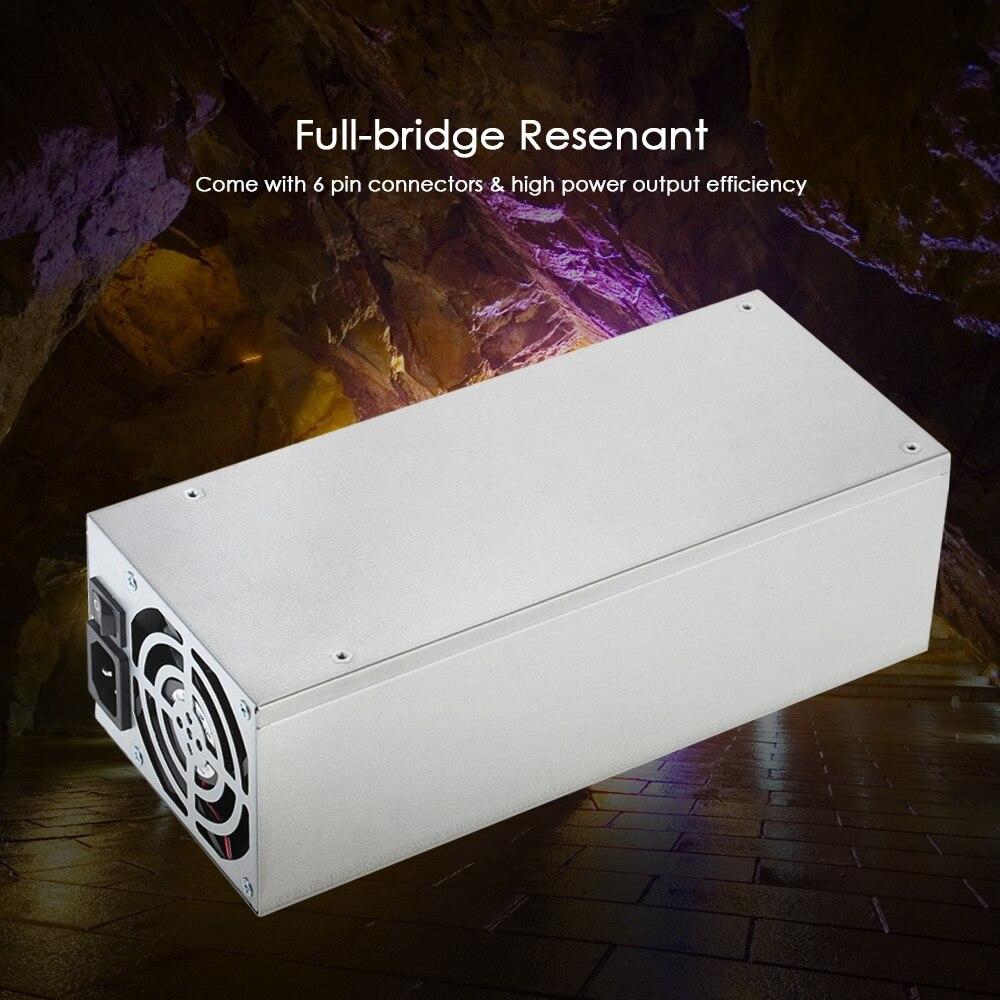 90% эффективности 2400 W 180 260 V Переключение сервера Питание горные машины Источники питания для bitman bitcoin Эфириума S9 S7 L3 Rig