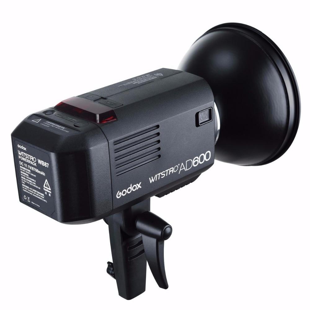 Δωρεάν DHL EMS! Godox Witstro AD600 600W TTL φορητό - Κάμερα και φωτογραφία - Φωτογραφία 2