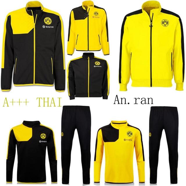 2015 Borussia Dortmund Dortmund formación chaqueta 15 16
