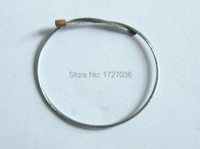 Купить с кэшбэком Free shipping Supermarket anti-shopliting EAS stainless steel Wire Lanyard eas accessories  Security 1000pcs/lot