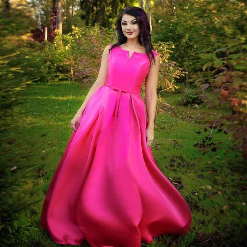 FADISTEE 2019 sexy di Nuovo arrivo vestiti da sera del partito Vestido de Festa prom Robe De Soiree Borgogna raso lungo Con Scollo A V in pizzo -up