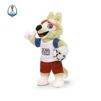Souvenirs Stash Wolf Zabivaka mascot Cute Kawaii Toy Football Match Gift Brand Designer 18 Cm Height Top Quality