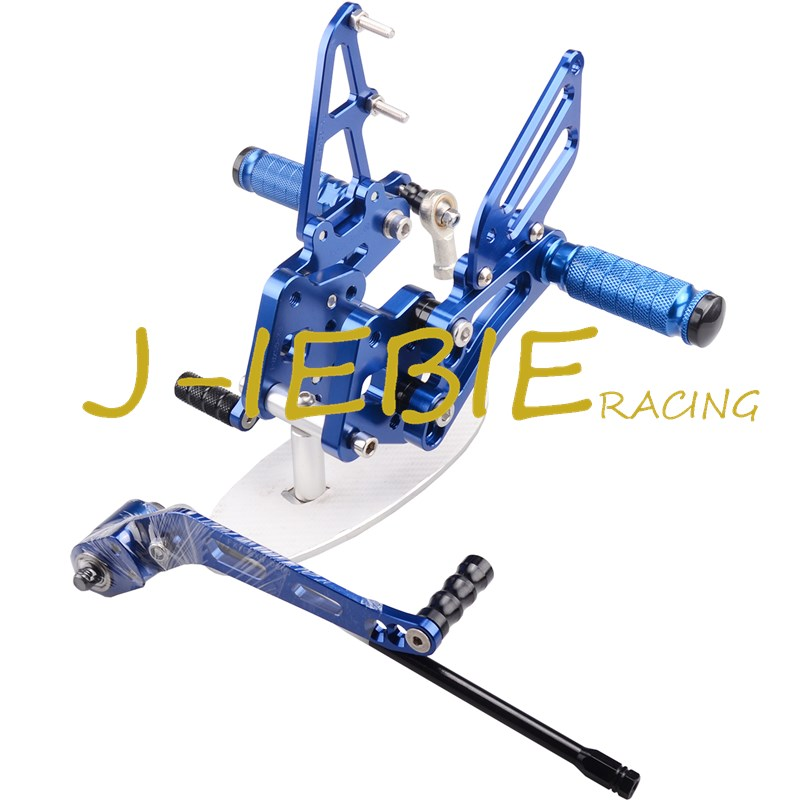 CNC Racing Rearset Adjustable Rear Sets Foot pegs For Suzuki GSXR 600 750 GSXR600 GSXR750 2006 2007 2008 2009 2010 K6 BLUE adjustable rider rear sets rearset footrest foot rest pegs gold for suzuki gsxr600 gsxr750 gsxr 600 750 2011 2012 2013 2014 2015