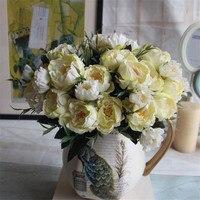 Fleur de Soie Européenne Artificielle Vintage 1