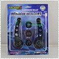 Janela do carro Winder Manivela de Alumínio Substituição Auto Caminhão Manivela buraco redondo Kit Adaptadores Universal Alças YA372-SZ