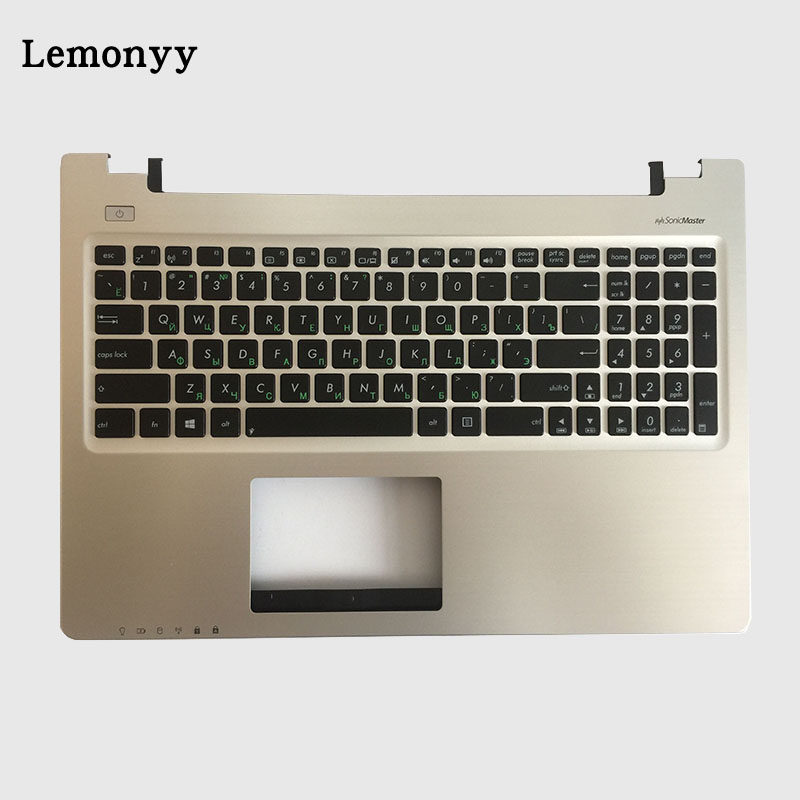 NEW Russian Keyboard for ASUS K56 K56C K56CA K56CM RU laptop keyboad Palmrest Upper new russian for hp envy x2 11 g000 g003tu tpn p104 hstnn ib4c c shell ru laptop keyboard with a bottom shell