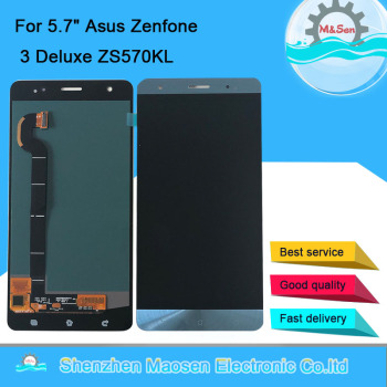 """5.7"""" Amoled M&Sen For Asus Zenfone 3 Deluxe ZS570KL Z016D Z016S LCD Display Screen+Touch Panel Digitizer For ZS570KL Display"""