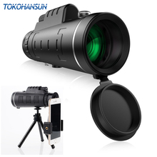 TOKOHANSUN Universal 40X Optical Glass Zoom Telescope Telephoto Mobile Phone Camera Lens For iPhone 6 Samsung Smartphones lenses