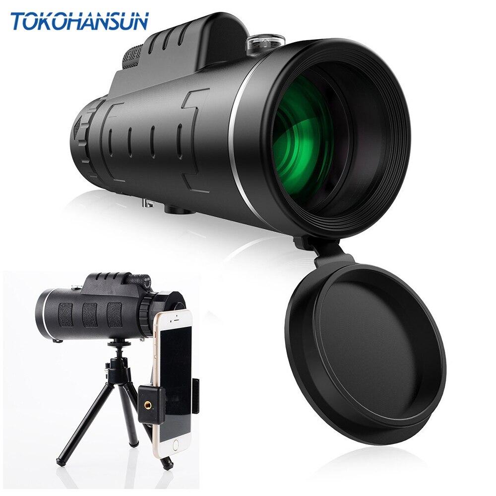 TOKOHANSUN Universal 40X vidrio óptico telescopio con Zoom telefoto de teléfono móvil de la Lente de la cámara para iPhone 6 Samsung Smartphones lentes