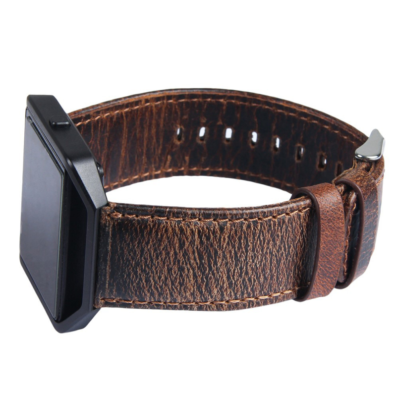 New Arrive 2018 Lxury Genuine Retro Leather Watch Band Wrist Strap For Fitbit Blaze Smart Watch Brand