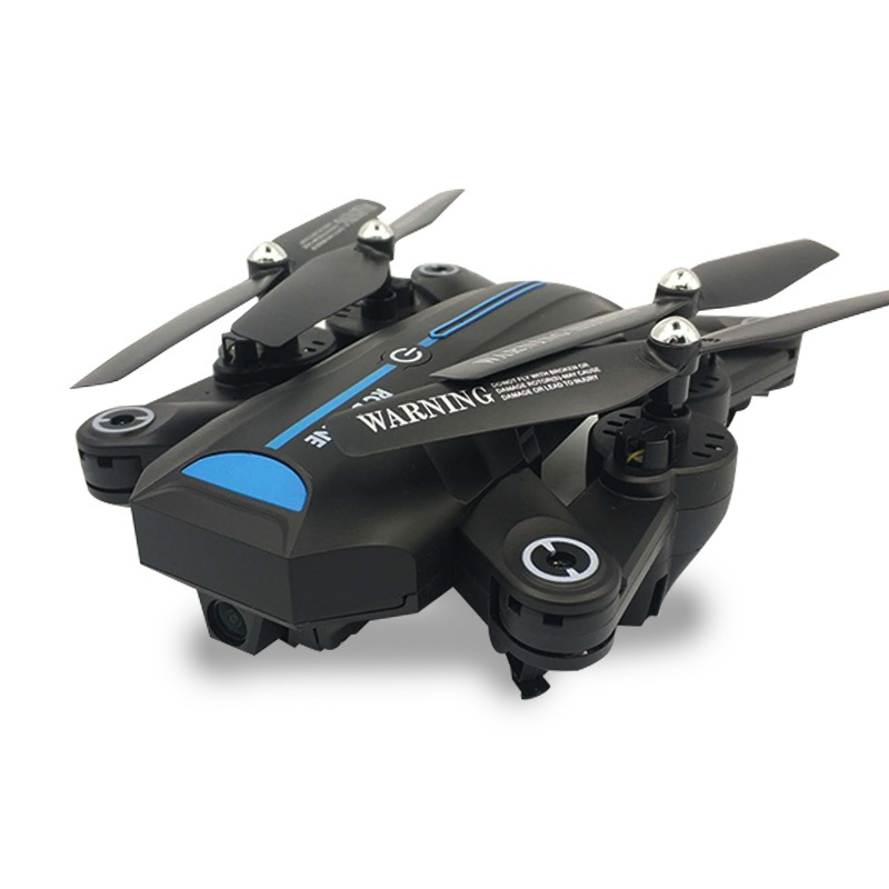 Global Drone A6W Foldable Selfie Dron FPV Helicopter Wifi Quadrocopter with Wide Angle Camera HD Toys for Boys VS VISUO XS809HW
