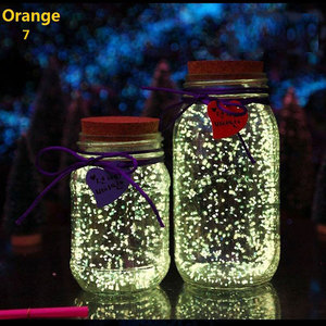 Image 2 - Pixco Photography Props 3Pcs Party Colorful DIY Fluorescent Super luminous Sand  Bright Glow Sand Glowing in the Dark Sand