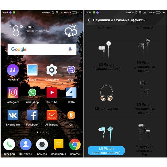 Fresh Edition Version Earphone  In Stock with Mic for Samsung for Xiaomi Original Xiaomi Mi Piston Fresh Earphone Newest Xiaomi