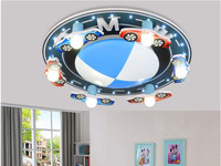 Modern Car's LOGO Decorative LED Ceiling Lights For Bedroom Children Kid's Room Home Decorative Surface Mounted Ceiling Lamp