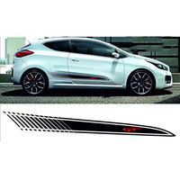 for Kia Pro Ceed Vinyl Side PAIR STRIPES Decals Stickers GT Line Graphics da4 0002