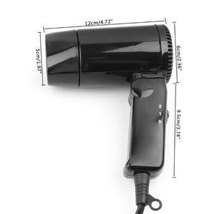 Image 5 - Прямая поставка Портативный 12 в автомобильный фен для укладки волос горячий и холодный складной воздуходувка оконный дефростер