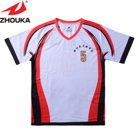 Bulk Wholesale White Tshirt China Soccer Jersey Cheap Custom Soccer Uniforms