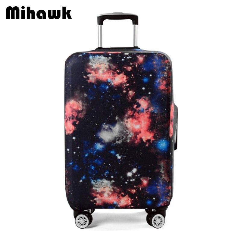 Mihawk Эластичный Galaxy тележка чемодан Крышка для 18-32 дюймов Чемодан защитный Protect пыли сумка для путешествий аксессуары питания