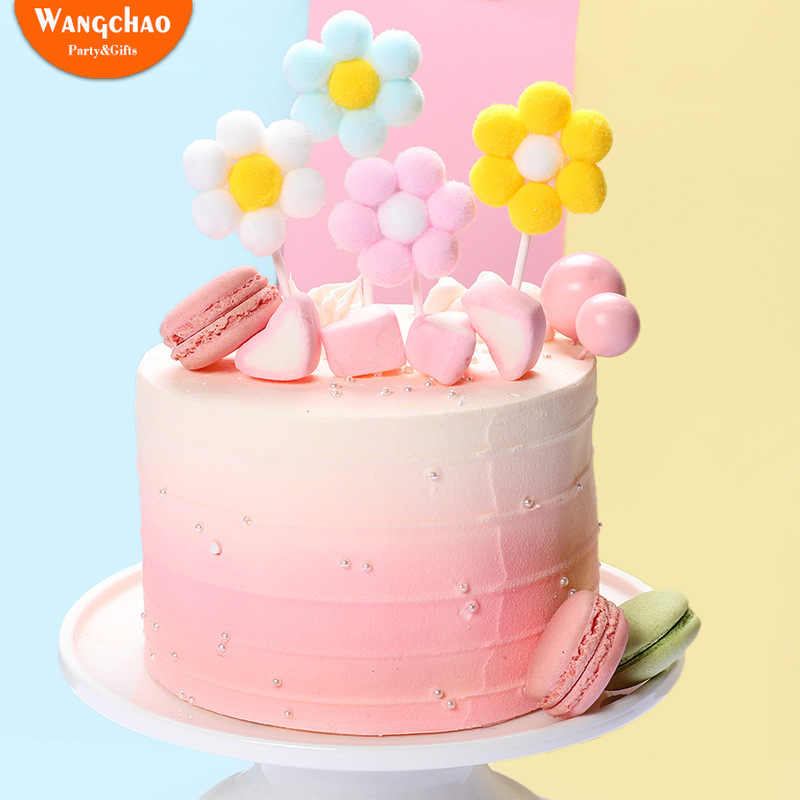 Outstanding Lovely Girls Birthday Theme Cake Topper Beautiful Velvet Ball Funny Birthday Cards Online Elaedamsfinfo