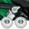 Хром Шок Болт Крышка Комплект Для Harley Sportster 2004-UP 48 72 Утюг XL 883 1200