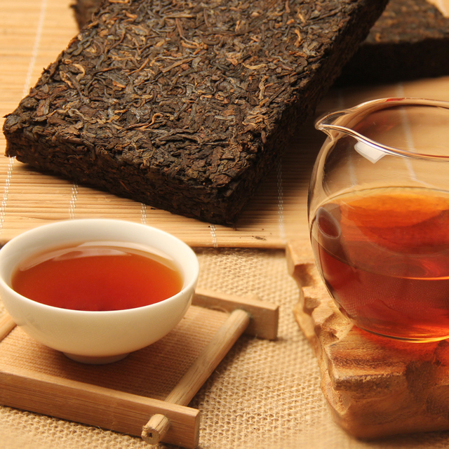 Green Food More than 45 Years Old Puer Tea Chinese Yunnan Down three High Clear Detoxification Weight Loss Puerh Pu'er Pu er Tea