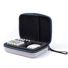 1 шт. AAA AA держатель батареи/Органайзер батареи/контейнер сумка EVA батарея коробка для хранения с подвесной веревкой для 40 шт aa aaa ворс