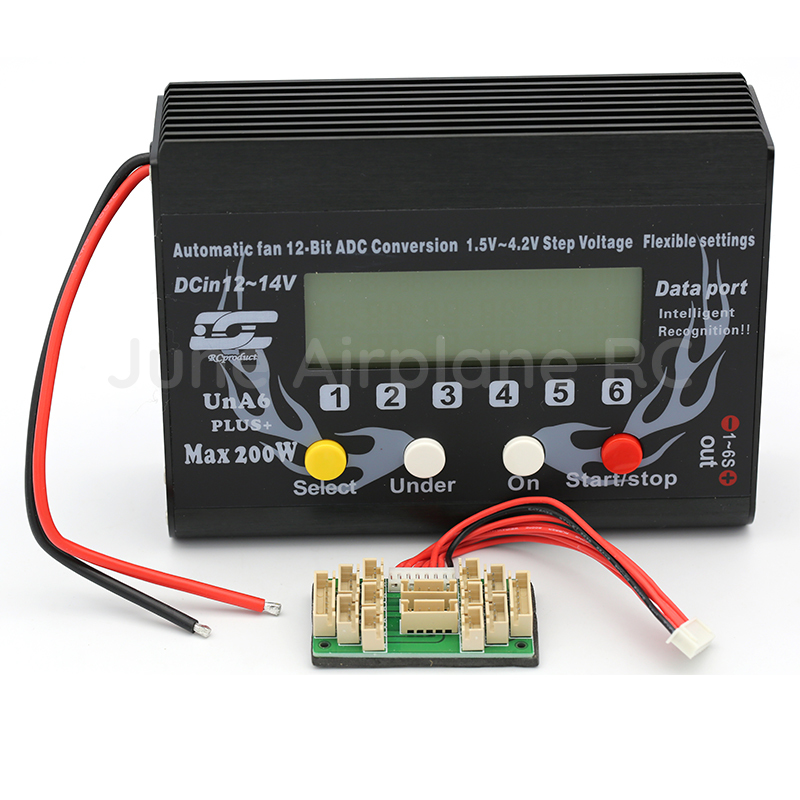 UNRC RC Plane Car UNA6/UNA9 9S LiPo Li-polymer Balance Charger RC Battery Charging for RC model airplane 6v 1600mah vb power receiver battery for rc car model plane wholesale price dropship freeshipping