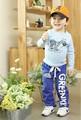 Nuevo 2016 otoño-verano pantalones de invierno cálido, los niños/de los cabritos, pantalones del muchacho del bebé, pantalones de los niños del deporte, ropa de bebé